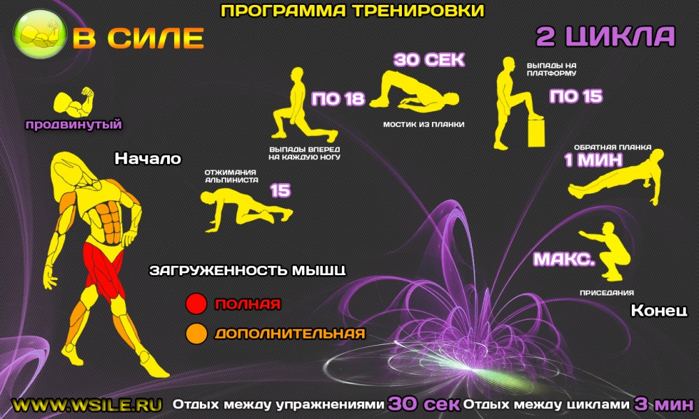 Программа для девушки в домашних условиях для похудения