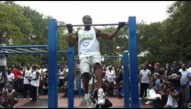 Rebel at the NBXA FreeStyle Pullup Comp