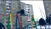 The Street MoB - Winter Party (Street Workout,Gimbarr,Gym) NEW 2013