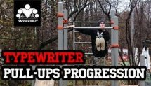 Typewriter Pull-Ups Progression (5 steps)