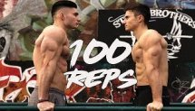 100 DIPS CHALLENGE - Street Brothers / Calisthenics