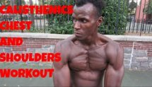 Calisthenics Chest and Shoulder Workout - Scott Burnhard