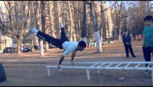 First spring training (Street Workout Odessa)