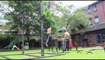 Bar-barians street workout in London