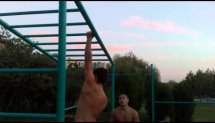 14 ONE ARM PULL UPS