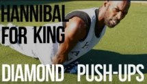 Hannibal For King - How to do Diamond Push Ups