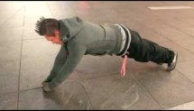 Miguel Fox Marrero - Times Square Push-ups