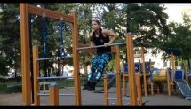 My first summer of Calisthenics (girls can too!).