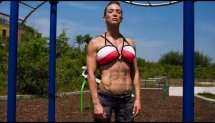 Female Workout Calisthenics by Baristi - Crazy 15