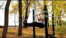 Outdoor workout (autumn achievement)