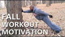 #50 - Calisthenics Fall Motivation Workout - Rocky Edition