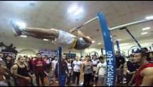 Kazakhstan, Astana WSWC 2014 BAR BARS WORKOUT