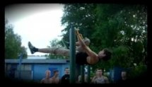 Front lever to Muscle Ups