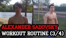 Alexander Sadovsky WorkOut Routine (3/4)
