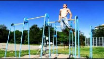 Russian workout on THE PULL-BAR (2)
