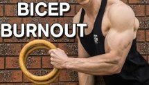 Bodyweight Bicep Burnout