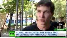 Ghetto Workout on Moscow streets (Russia Today)