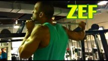 ZEF - Training on the bar (GYM)