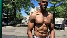 Crazy RIPPED 53 Year Old Vegan