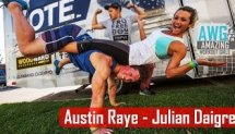 Austin Raye & Julian Daigre - Fitness Couple  Workout  | AWG