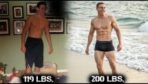 7 Year Workout TRANSFORMATION | 118 lbs. to 200 lbs. (80 lb increase) | Brendan Meyers