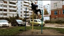 Parkour and Workout by Ruslan Valiev from Kazan, Russia