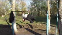 Street workout Russia