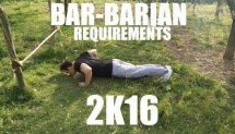 BAR-BARIAN REQUIREMENTS 2K16