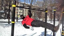 One Day Workout in winter Khabarovsk. 2013