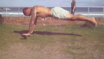 "Push ups ""Superman"""