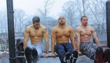Hannibal Barstarzz Session ( Snow Workout )