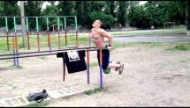 Dips & Pull-Ups with extra weight 48kg