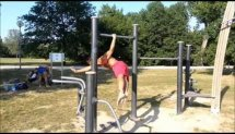 Calisthenics Park Training