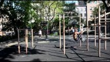 Keith Horan Tompkins Square Park Parkour and Calisthenics