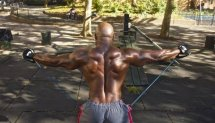 HIT'S FULL BODY WORKOUT WITH CALISTHENICS & RUBBERBANDITZ RESISTANCE BANDS
