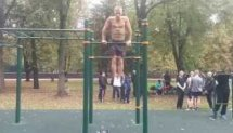 22 clean muscle ups