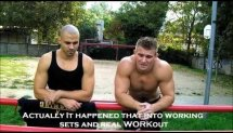 Real Street Ghetto Workout Message - Xione and Raw