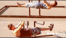 Front lever and Push-ups Planche