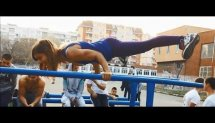 Extremely Fit 13y.o Girl On The Bars - Yoana Orton
