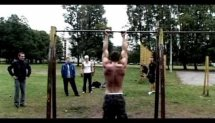 calisthenics workout Latvia part two