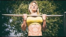 Cornelia Ritzke - Female Calisthenics Workout