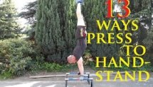 13 Different ways press to handstand [HD]