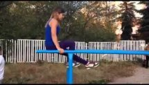 Street Workout - Amazing Girl 2014 !