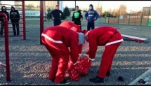 Christmas Street Workout Meet 2014