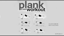 5 Minutes Plank Workout | Level:Medium