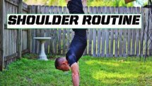 Intermediate Shoulder routine