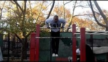 Brooklyn muscle ups warm up #2, it's always thanks 4 watching