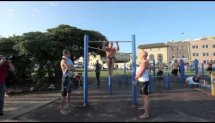 GUINNESS WORLD RECORD MUSCLE UPS OFFICIAL VIDEO