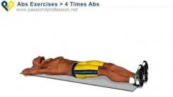4 Time abs for lower abs - Beginners ab exercises