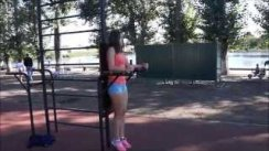 street workout girls  2015